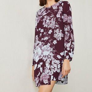 BCBG Ashton Floral Print Dress